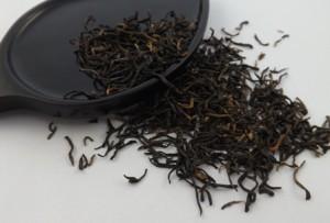 té negro cuchara